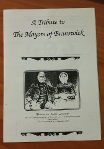 Tribute to Mayors of Brunswick - cover